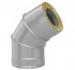 Сэндвич-колено Ф115х200, 135° (0.8 мм +оц.)