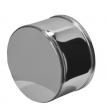 Заглушка внешняя Ф115 (0.5 мм/нижняя)