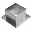 Потолочно проходной узел Ф150 (0.5 мм)