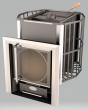 Печь банная ИВА Премиум 55 м3 (450*420)