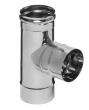 Тройник-Д Ф120 90° (0.8 мм)