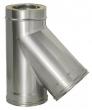 Сэндвич-тройник Ф115х200, 135° (0.8 мм +оц.)