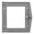 Дверка топочная ДТ-4С 250х280х36 п/стекло (не окрашена)