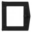 Дверка топочная ДТ-4С 250х280х36 п/стекло (окрашена)