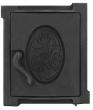 Дверка топочная ДТУ-4A, 250х280х36 (окрашена)