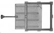 Задвижка ЗВ-5А  (240х260х604)